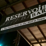 Photo taken at Reservoir Bar by Katherine G. on 11/7/2011