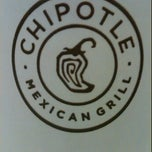 Photo taken at Chipotle Mexican Grill by Bronson L. on 11/6/2011