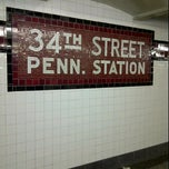 Photo taken at MTA Subway - 34th St/Penn Station (A/C/E) by Lisnaldy C. on 9/11/2011