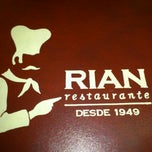 Photo taken at Rian Restaurante by Eneida M. on 5/26/2012