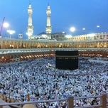 Photo taken at Al-Masjid Al-Haram | المسجد الحرام by Mouath A. on 5/3/2012