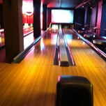 Photo taken at Bowlmor Lanes Midtown by Ali M. on 4/14/2012