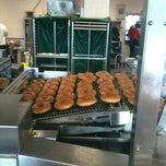 Photo taken at Krispy Kreme Doughnuts by Charlotte E. on 9/2/2012