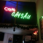 Photo taken at Cay Sau Cafe by Nguyễn Hữu T. on 10/19/2011