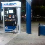 Photo taken at Marathon by Brian M. on 1/28/2012
