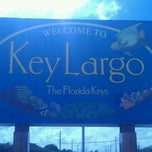 Photo taken at Key Largo by Keys T. on 2/4/2012