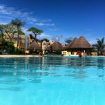 Photo taken at Sheraton Gambia Hotel Resort & Spa by Kevin V. on 7/13/2012