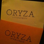 Photo taken at ORYZA Restaurante by ✨Aninha A. on 4/16/2011