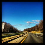 Photo taken at NYS Thruway by Jeremy B. on 4/5/2012