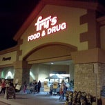 Photo taken at Fry's Food Store by Andrew D. on 2/25/2012