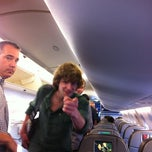 Photo taken at jetBlue Flight 1264 by Edward B. on 3/12/2012