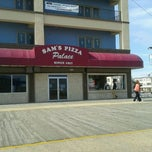 Photo taken at Sam's Pizza Palace by John C. on 4/1/2012