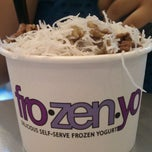 Photo taken at FroZenYo by Missy S. on 9/10/2011