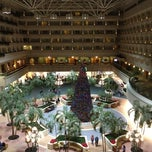 Photo taken at Hyatt Regency Orlando International Airport by Shelley F. on 12/21/2011