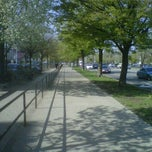Photo taken at Benches On Ocean Parkway by Jason J. on 9/12/2011