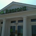 Photo taken at Regions Bank by Kaylie J. on 8/17/2011