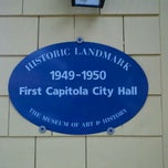 Photo taken at First Capitola City Hall by Morgan C. on 9/10/2011
