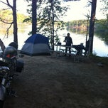 Photo taken at Stone Mountain Park Campground by Federico A. on 4/1/2012