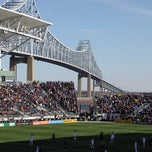 Photo taken at PPL Park by Steven M. on 7/29/2012