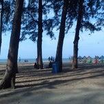 Photo taken at Pantai Batu Buruk by Riz G. on 8/21/2012