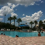 Photo taken at Rivercrest Clubhouse Pool by Tamara H. on 7/23/2011