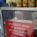 Photo taken at Apam Balik depan Stesen Bas Bidor by Joe F. on 1/2/2012