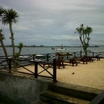 Photo taken at Tanjung Benoa Beach by Sony C. on 1/13/2012