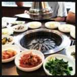 Photo taken at Nak Won Korean BBQ by Kinki K. on 9/1/2012