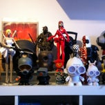 Photo taken at Outland Designer Toy Store & Art Gallery by paulo m. on 7/11/2012