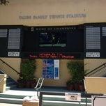 Photo taken at Taube Family Tennis Stadium by Rebecca on 7/15/2012
