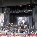 Photo taken at White River Amphitheatre by Wilman U. on 7/4/2012