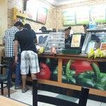 Photo taken at Subway by Khushman P. on 6/9/2012