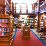 Photo taken at Eldredge Public Library by Adrián E. on 8/14/2012