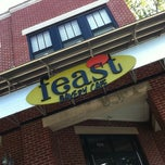Photo taken at Feast Bakery Cafe by Kevin O M. on 7/7/2011