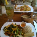 Photo taken at Wild Ginger Pan-Asian Vegan Cafe by Barb M. on 6/21/2012
