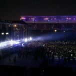 Photo taken at Tiësto College Invasion Tour @ Home Depot Center by Helen H. on 10/9/2011