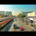 Photo taken at Metro Viaducto (Línea 2) by Drawo .. on 4/15/2012