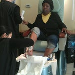 Photo taken at Queen Nails And Spa by Devin K. on 3/6/2012