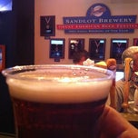 Photo taken at Sandlot Brewery @ Coors Field by Bob M. on 9/1/2012