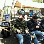 Photo taken at Cousins Paintball Staten Island by Fred W. on 4/21/2012