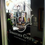 Photo taken at Sebastien Grey Clothiers by Ben C. on 4/21/2012