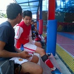 Photo taken at Sempurna futsal by Benny H. on 12/25/2011