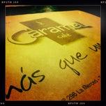 Photo taken at Caramel Café by Paula A. on 1/16/2012