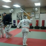 Photo taken at Azad's Martial Arts Family Academy by Jessica H. on 1/19/2012