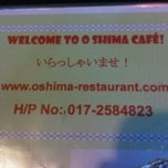 Photo taken at O-Shima Cafe by Fiena D. on 4/18/2011