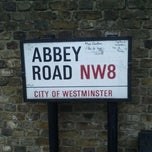 Photo taken at Abbey Road Studios by Rafaella N. on 1/8/2012