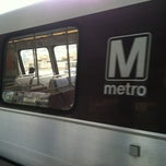 Photo taken at WMATA Yellow Line Metro by Syretha D. on 6/4/2012