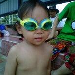 Photo taken at สระว่ายน้ำ @ เคหะร่มเกล้า by Mam on 7/14/2012