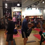 Photo taken at lululemon athletica by Landon S. on 4/26/2012