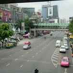 Photo taken at แยกราชประสงค์ (Ratchaprasong Intersection) by Coconattie N. on 10/7/2011